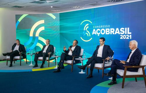 Congresso Aço Brasil 2021. Foto: Marcos Issa/Argosfoto/Instituto Aço Brasil.