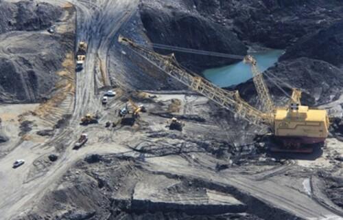 Mina de Candiota no Rio Grande do Sul. Foto: Companhia Riograndense de Mineração