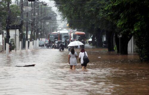 Alagamento. Foto: Agência Brasil