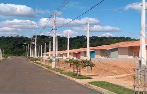 No total, foram investidos R$ 9,5 milhões para que cerca de 400 pessoas realizassem o sonho da casa própria com o Conjunto Habitacional Pacaembu F (Foto: Divulgação)