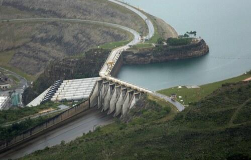 Hidrelétrica de Furnas (MG). Foto: Raylton Alves/Banco de Imagens ANA