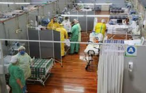 Hospital de campanha Covid-19. Foto: Agência Brasil.
