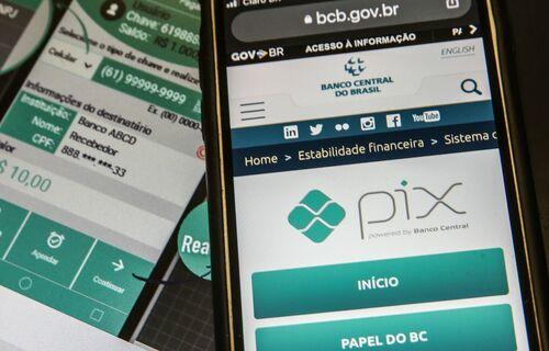 PIX - Foto: Agência Brasil