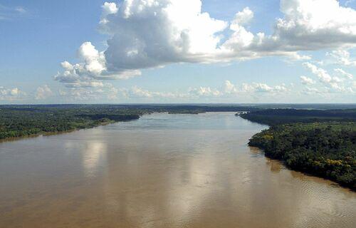 Rio Negro. Foto: Agência Brasil.