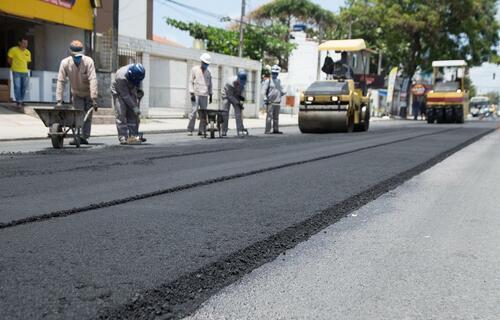 Obras em Pernambuco - Foto: Prefeitura da Cidade do Paulista (PE)
