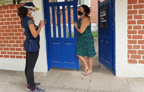 Teste de campo do Censo 2022 em Paquetá teve início dia 6 de setembro. Foto: Cal Guimarães/Agência IBGE Notícias