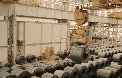 Usina em Ouro Branco (MG) passará a produzir 250 mil toneladas anuais de bobinas a quente. Imagem: Reprodução Facebook/Gerdau