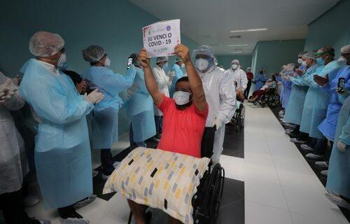 Paciente recuperado da Covid-19 - Foto: Fundação de Vigilância em Saúde do Amazonas/FVS