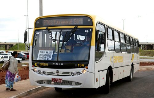Linha BRT Luziânia. Foto: Dênio Simões/Agência Brasília.